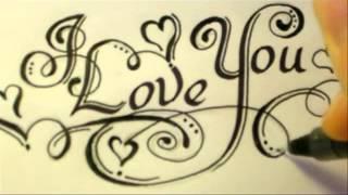 how to draw i love u in graffiti