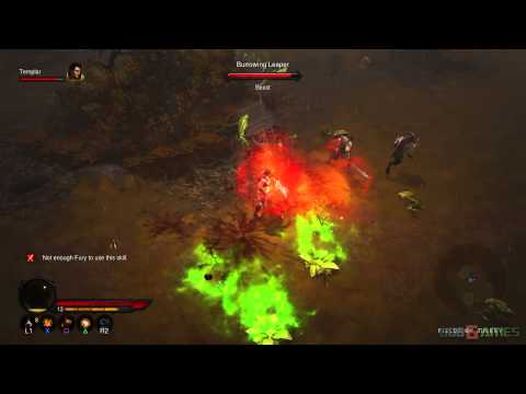 Diablo 3 PS3 Walkthrough 1080p – Normal ACT 1 Barbarian female AndrissGG Part 4