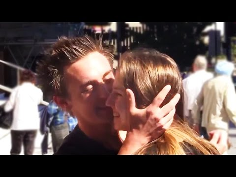 Kissing Prank - Asking To Kiss Hot Girls - Gone Sexual video