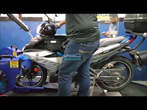 Yamaha Y15ZR aRacer ECU RC M4 Dyno Tuning - Motodynamics Technology Malaysia