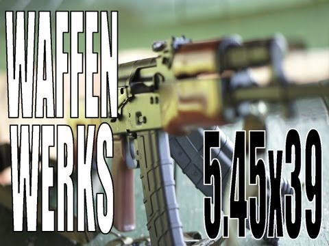 Three Average Guys Reviews Episode 12: Waffen Werks AK-74 5.45x39 Part1