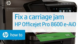 fixing-a-carriage-jam--hp-officejet-pro-8600-e-all-in-one-printer