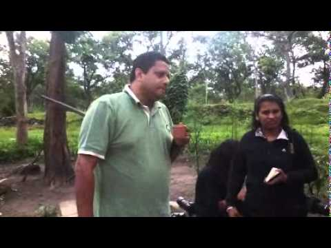 Kumble foundation bloggers interact with Bandipur forest anti-poaching staff