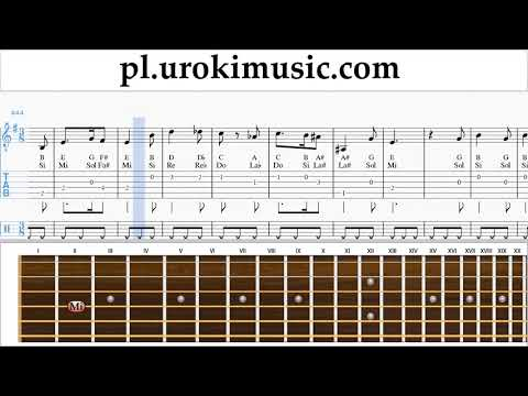 Nauka Gry Na Gitarze Harry Potter - Hedwig's Theme Nuty Poradnik Um-i463