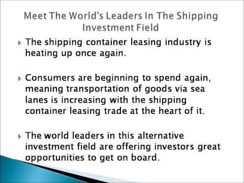 Textainer - Shipping Investments