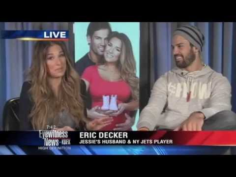 Eric Decker and Jessie James talk about GQ shoot and life in New York