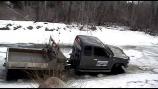 Chevy Colorado - Extreme Hagglunds Ice Fishing