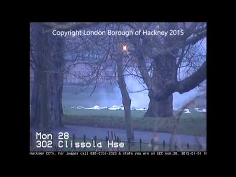 Controlled explosion of WW2 bomb in Clissold Park, Hackney
