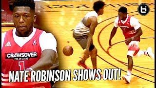 Nate Robinson is STILL A MONSTER! Puts The MOVES on Defenders & Dunking at The Crawsover!!