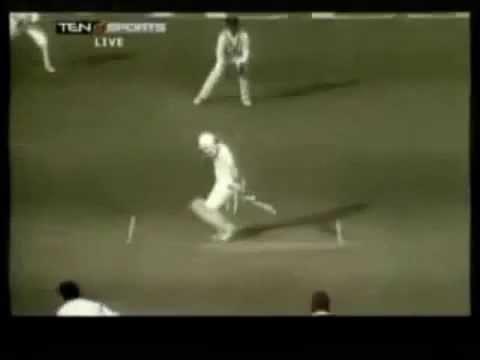 Waqar Younis's bouncer to Sachin Tendulkar 1989 Pakistan Tour