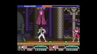 SNES Longplay [282] Mighty Morphin Power Rangers - The Movie (2P) (a)