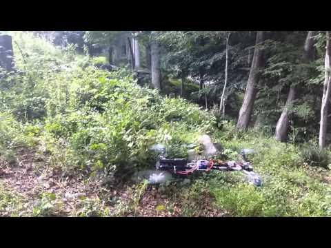 Подросток вооружил дрон пистолетом, но полиция считает, что это законно