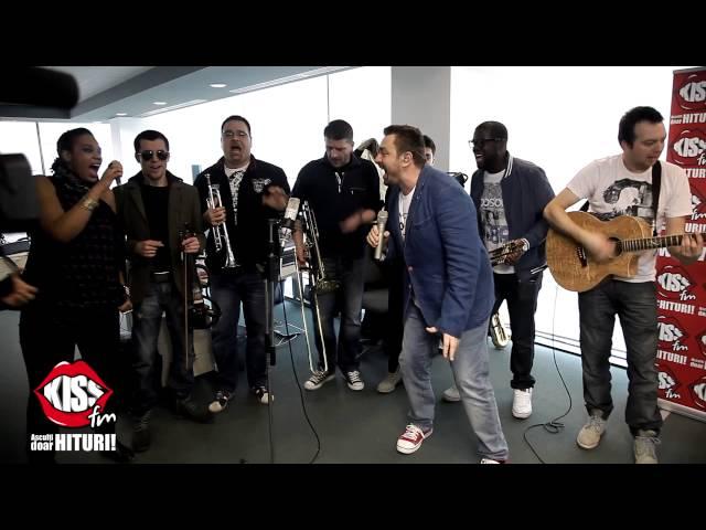 Horia Brenciu - Fac Ce-mi Spune Inima live la Kiss FM