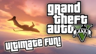 ★ GTA 5 : ULTIMATE FUN! - Funny & Random Moments, Swing of Doom Glitch, UFO, Big Foot, and MORE!!