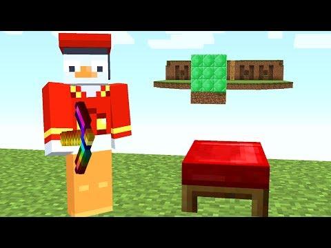 Die Mitte besteht aus Emerald Blöcken😂.. Minecraft LUCKY BLOCK BEDWARS
