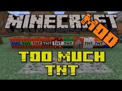 Minecraft: Too Much TNT Mod   (Nuke's, Lava Bombs & Ocean Tnt)