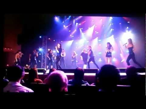 Copy of Pitch Perfect Bellas' performance in the finals
