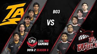 ELITE WOLVES vs THUNDER PREDATOR | Liga Pro Gaming Dota 2 Season 6