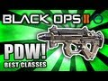 Black Ops 2: BEST CLASS SETUP - PDW (Rushing Class) - Call of Duty BO2 Gameplay