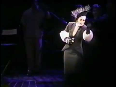 As If We Never Said Goodbye {Sunset Blvd ~ Broadway, 1995) - Glenn Close's final performance