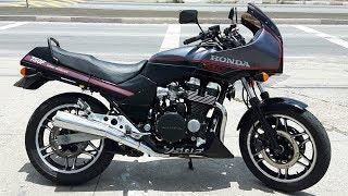 Rodolfinho da Z- Testando Honda CBX 750 F - 7 GALO MAGIA NEGRA.