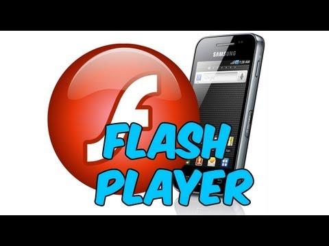Adobe Flash Player 11 Samsung Galaxy Ace Gt-S5830i