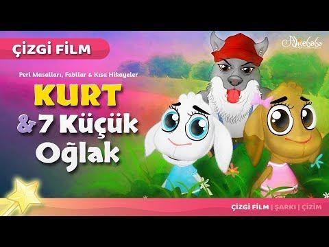 Download Kurt ve 7 Küçük Oğlak çizgi film masal 20 - Adisebaba Çizgi Film Masallar