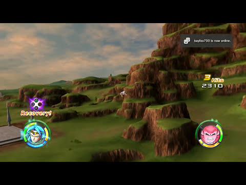 [60fps] Dragon Ball: Raging Blast 2 - Goku, Vegeta, Broly vs Frieza, Cell, Buu    ドラゴンボール レイジングブラスト2