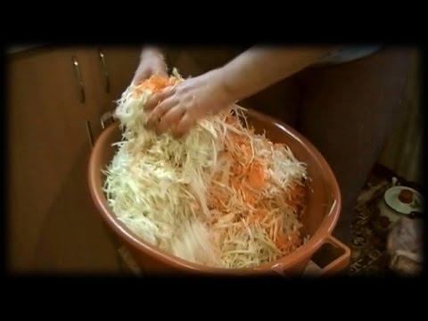 Закваска капусты.Рецепт проверенный годами.