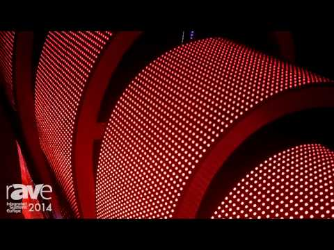 ISE 2014: CLT Intros Extremely Flexible LED Screen with Magnets for Easy Install