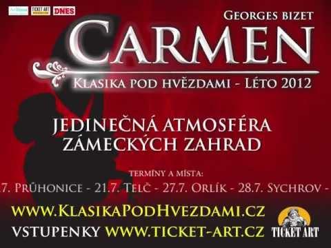 Klasika pod hvězdami - CARMEN 2012
