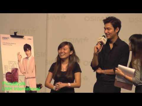 Lee Min Ho Osim Malaysia meet and greet 20140928