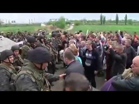Ukraine crisis  Government forces in Sloviansk offensive