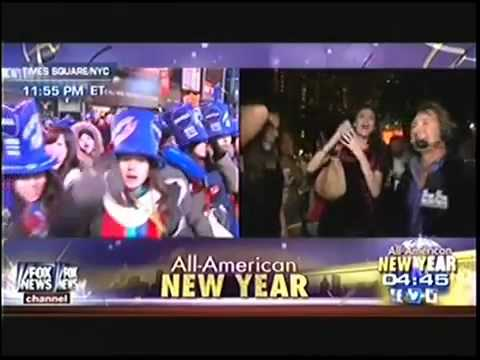 Fox News New Years Eve   Girl Says Fuck Shit Up video