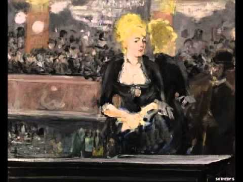 Manet Parisian painting up for sale