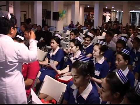 Tongan Student Nurses Choir - Sia Hamba