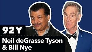 Neil deGrasse Tyson with Bill Nye — COSMOS: Possible Worlds