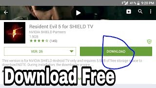 Download Resident evil 5 Any android phone.100% work.