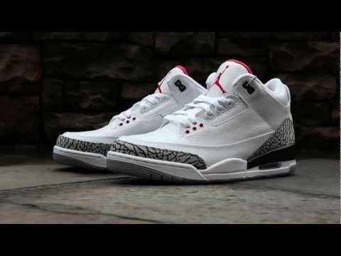 Review: Jordan 3 Retro '88 - White/Cement