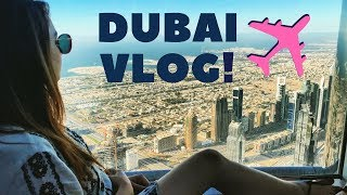ON TOP OF THE WORLD | DUBAI Vlog | Nitibha Kaul