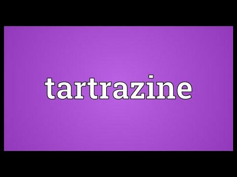 Header of tartrazine