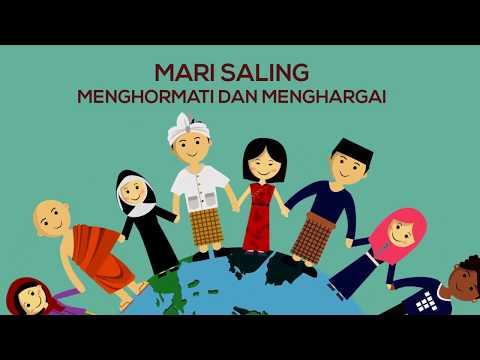 Download Animasi Iklan Layanan Masyarakat Satu Indonesia Bhineka Tunggal Ika Motion Graphic Mp4 baru