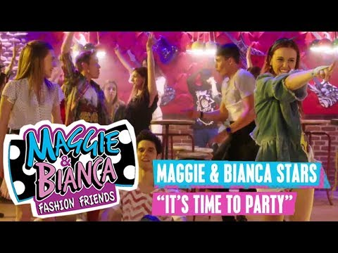 MAGGIE & BIANCA Stars - 🎵 It's Time To Party 🎵 | Disney Channel Songs