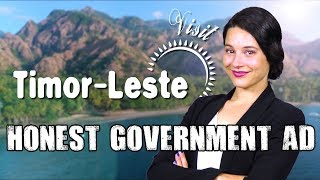 Honest Government Ad | Visit Timor-Leste!