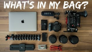 What's in my CAMERA BAG - Travel Filmmaking Gear