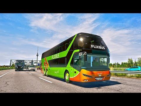 СИМУЛЯТОР ВОДИТЕЛЯ АВТОБУСА - Fernbus Simulator в 4K