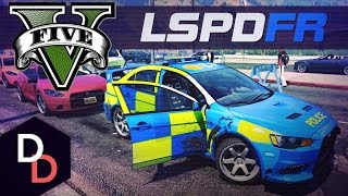 GTA 5 LSPDFR - The British Way - Day 13 - Essex Police Evo Interceptor
