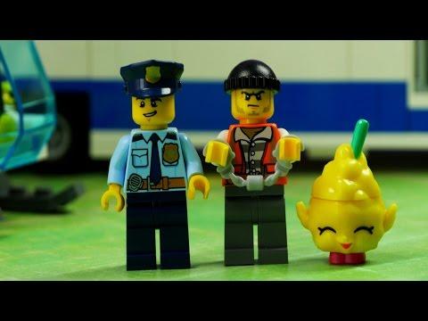 Porwanie Shopkinsów | Lego City Policja & Shopkins | Bajki dla dzieci