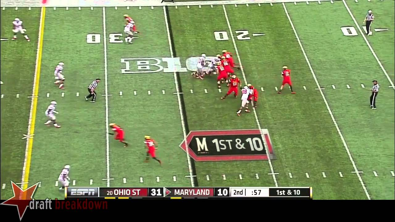 Michael Bennett vs Maryland (2014)