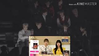 BTS react to Twice VCR [MGA GENIE 2018]